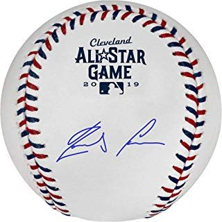 Ronald Acuna Jr Atlanta Braves Autographed 2019 Mlb All Star Game