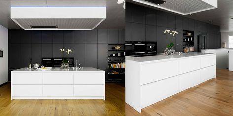 Cucina Bianca e Nera: eccovi 20 Modelli dal Design Moderno   Home ...