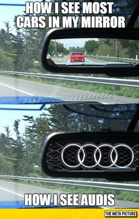 Normal Driver Vs Audi Driver Autos Schicke Autos Und Audi