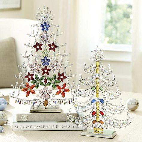 Suzanne Kasler Czech Crystal Tree Small Ballard Designs Crystal Tree Jewelry Christmas Tree Ballard Designs