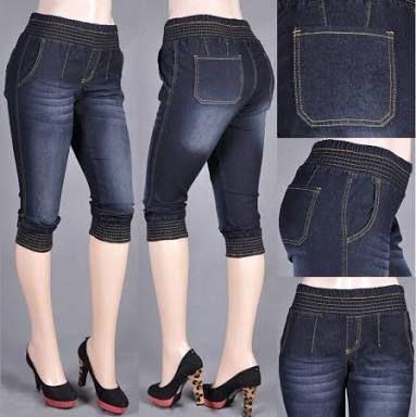 Resultado De Imagen Para Pantalones Pescadores Para Damas Capri Pants Fashion Black Jeans