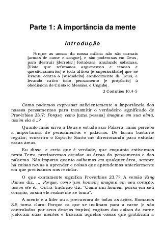 Campo De Batalha Da Mente Con Imagenes Libros Cristianos