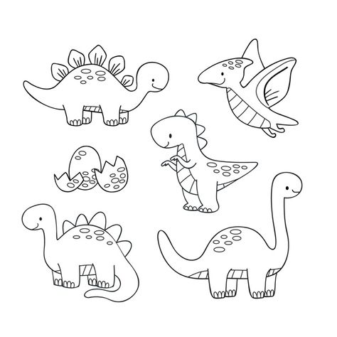 Coloring sheet, 80 Best Free Graphics on Freepik Doodle Art, Doodle Drawings, Cartoon Drawings, Easy Drawings, Cute Drawings For Kids, Doodle Kids, Drawing For Kids, Dinosaur Coloring Pages, Colouring Pages