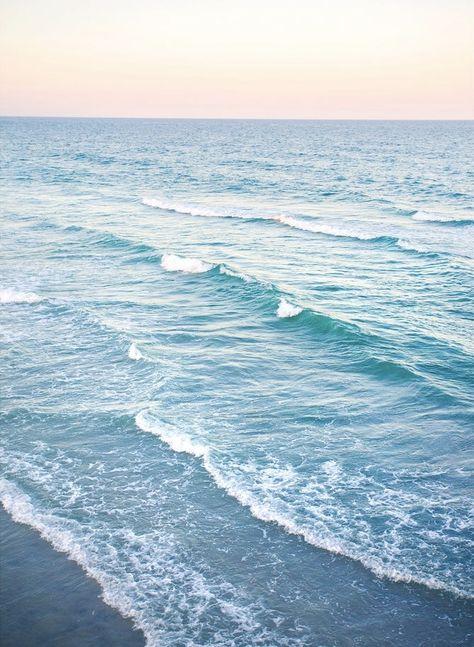 Wrightandroam photograph on Etsy. Sunset on wrightsville beach. Minimalist wall art, coastal home decor Light Blue Aesthetic, Beach Aesthetic, Ocean Photography, Amazing Photography, Night Photography, Ocean Wallpaper, Beach Sunset Wallpaper, Ocean Backgrounds, Ocean Pictures
