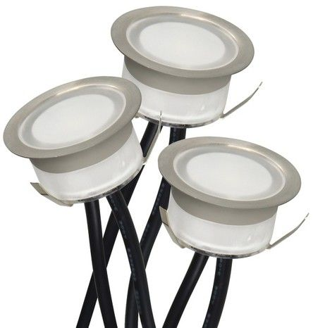 Lot De 3 Spots A Encastrer Led 30 Lumens Easylight Avec Images Eclairage Terrasse Eclairage Exterieur Led