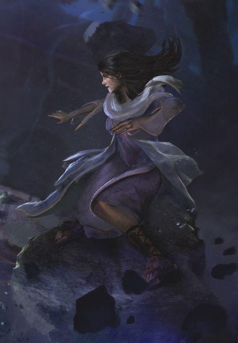 Héroes de la Luz - Promotional illustration, Alejandro Olmedo