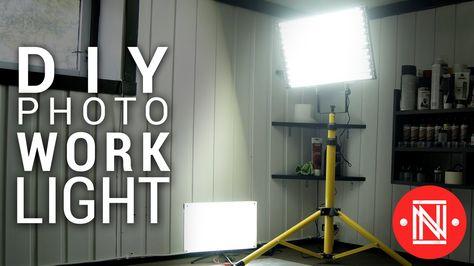 Making A Brilliant Led Photo Work Light Panel For Under 20 Diy Lighting Youtube Led Lighting Diy Led Diy Led Panel Light