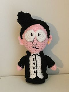 Amigurumi Michael The Goth Kid Pattern By Jenn Mulherin Goth