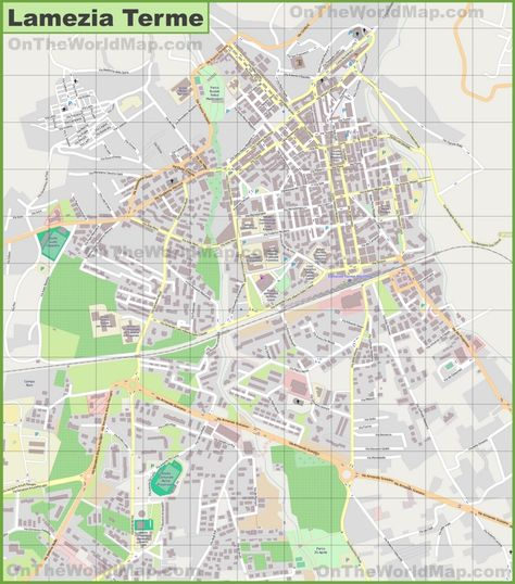 Large detailed map of Brindisi Maps Pinterest Italy and City