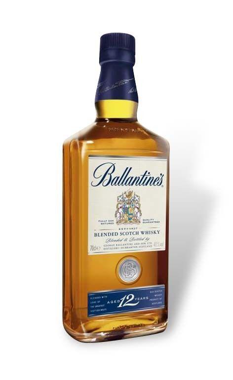 Whisky Ballantine S 12 Anos En 2020 Botellas De Licor Whisky Y