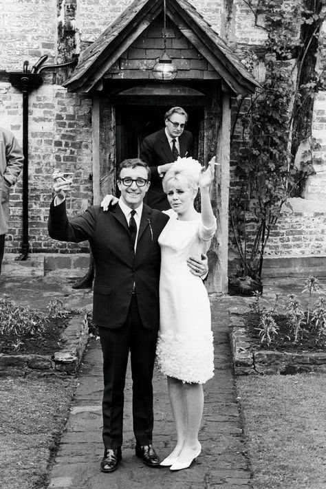 1951 wedding of actors Peter Sellers and Britt