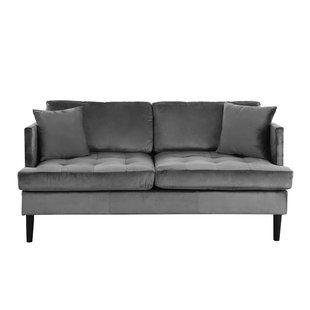 Super Grey Velvet Loveseats Youll Love Wayfair Love Seat Bralicious Painted Fabric Chair Ideas Braliciousco