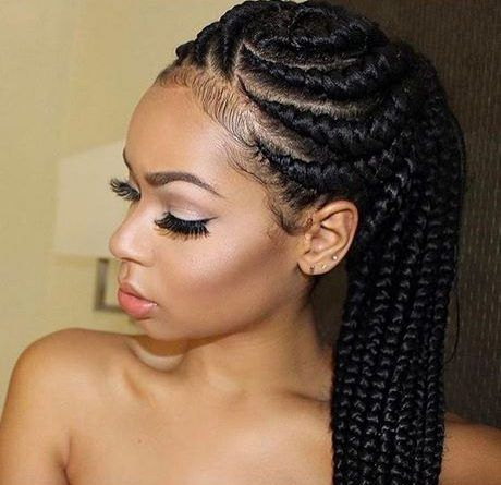 Best Hairstyles For Black Ladies Hair Styles African Braids Hairstyles Feed In Braids Hairstyles