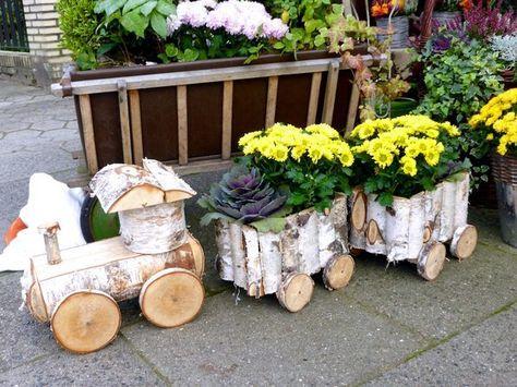 Toff Toff Toff Hier Kommt Die Eisenbahn Tolles Geschenk Kann Ich Mir Auch Gut Zu Weihnachten Vorstellen Gartendekor Geschenk Garten Holzofen Handwerk