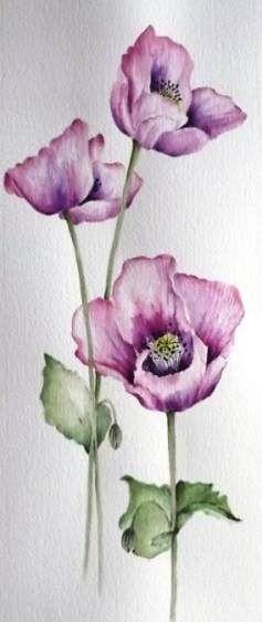 Tattoo Arm Watercolor Poppy Flowers 29 Ideas Tattoo Flowers In