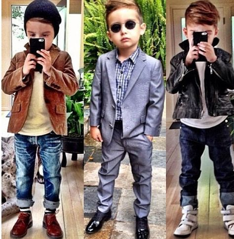 My son is going to be so stylish! He's gonna be a heart beaker for sure! I can't wait to spoil my little boy