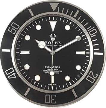 Amazon Fr Rolex Horloge Murale Horloge Pendule Murale