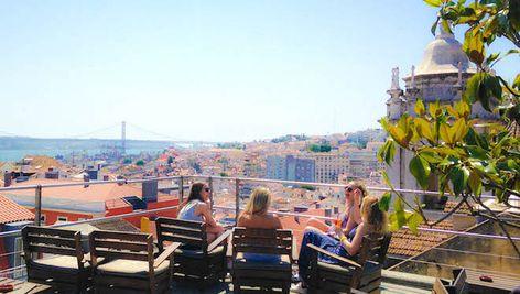 Garden Rooftop Lisbonne