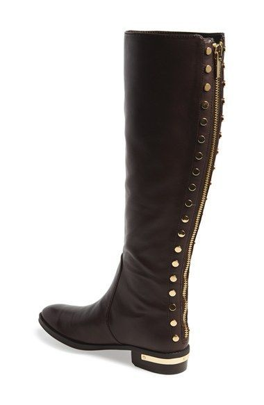 8c85cf5ea2f Vince Camuto 'Parshell' Studded Tall Boot (Women) | Nordstrom ...