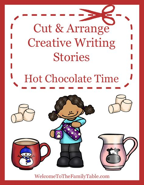 Cut and Arrange Creative Writing Stories for Kids – Hot Chocolate ...