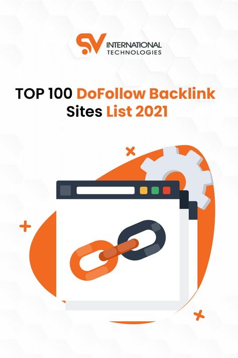TOP 100 DoFollow Backlink Sites List 2021