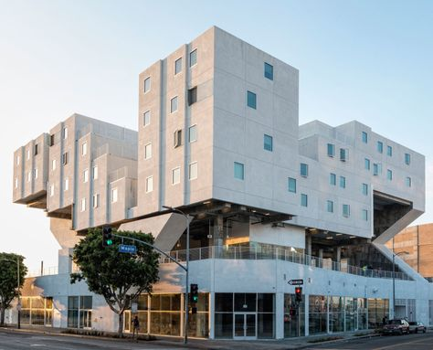 Star Apartments Los Angeles Michael Maltzan Architecture 2013 Architecture Building Social Housing