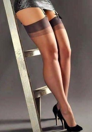 Nylons girl in Miniskirts And