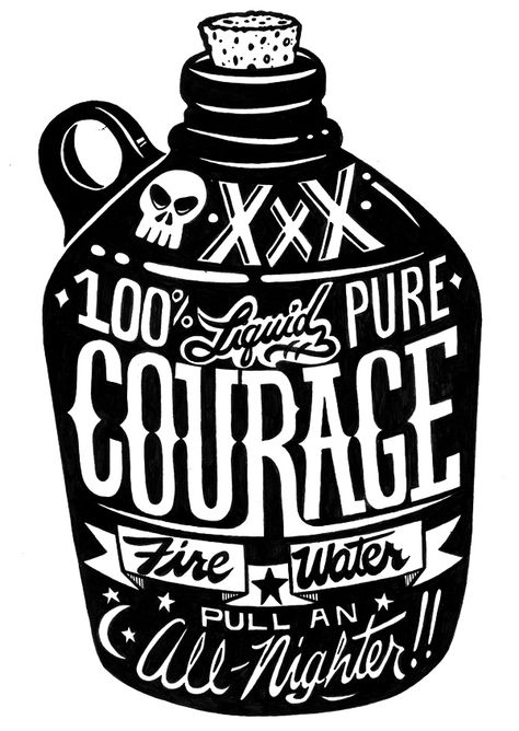 100% courage