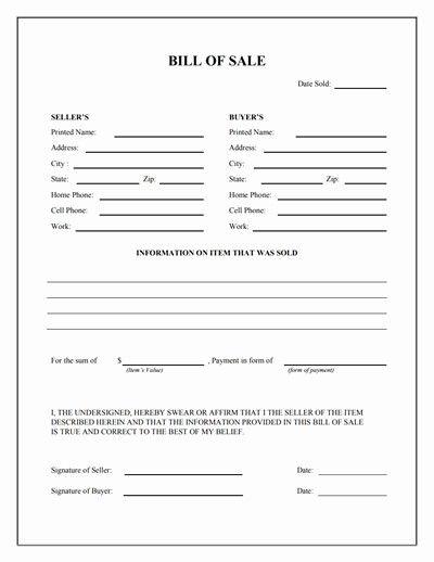 Bill Of Sale Form Download Best Of General Bill Of Sale Form Free Download Create Edit Bill Of Sale Template Bill Of Sale Car Templates