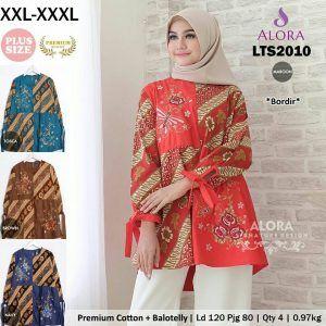 Batik Ukuran Jumbo Modis Lts2010 Grosir Baju Muslim Termurah Baju Muslim Baju Atasan Wanita Wanita