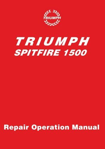 The Max® Car Cover Vehicles Triumph Spitfire 1973 1500 MK4 - operation manual