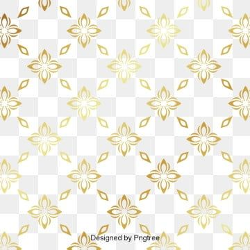 Golden Thai Pattern Batik Pattern Clipart Golden Decorative Pattern Png And Vector With Transparent Background For Free Download Thai Pattern Wedding Background Images Color Vector