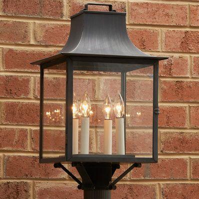 Georgian Outdoor Wall Light 1 Light In 2020 Outdoor Post Lights Lantern Post Outdoor Lighting