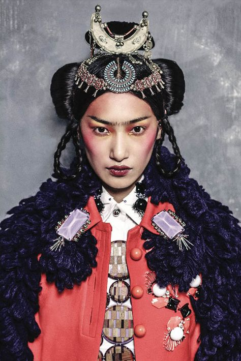 Gigi Jeon by Philip Meech for Muse #32 Winter 2012.