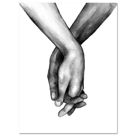 CYBER MONDAY SALE: Black And White Prints, Lovers Holding Hands, Love Quote, Minimalist W – Seahorse Scarlett