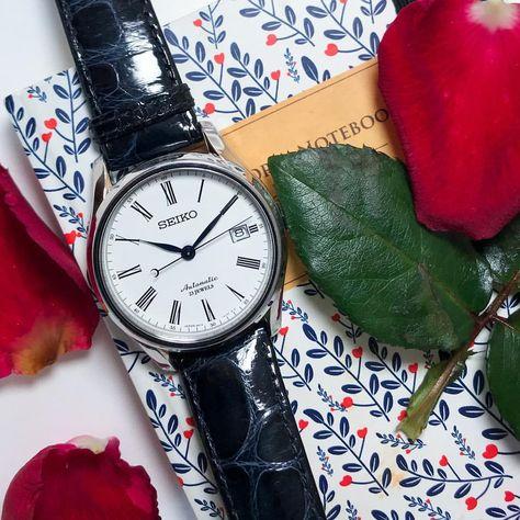 HieuさんはInstagramを利用しています:「Gentlemen with pretty lady. #beautifull #gentlemen #fashion #jewelry #watch #watchphotography #seiko #sarx019 #rose」