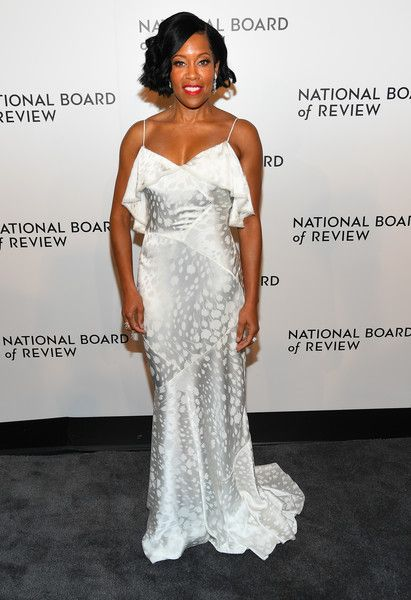 Regina King attends the 2019 National Board Of Review Gala at Cipriani 42nd Street.