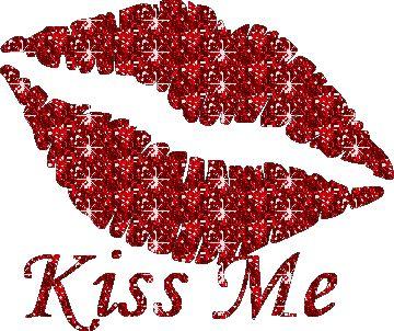 Lips glitter graphics
