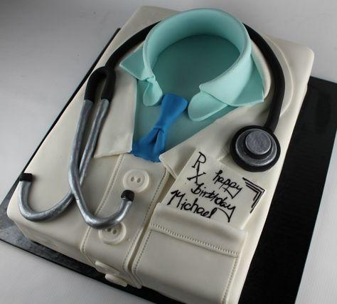 Lab Coat Cake