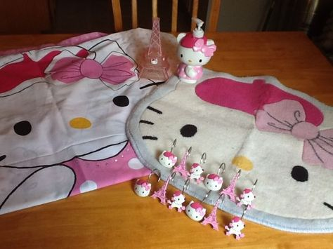Hello Kitty Bonjour Paris Bathroom Items More HK on