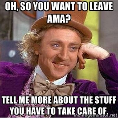 Insurance WILL pay if you leave AMA.  Stop spreading the myth!