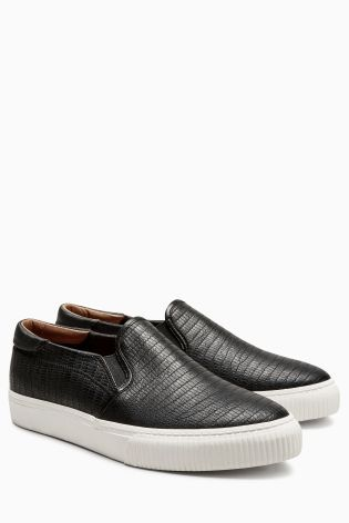 f9db1e0d22c8 Image 2 of Steve Madden Eleete Rose Gold Toecap Slip On Plimsolls ...