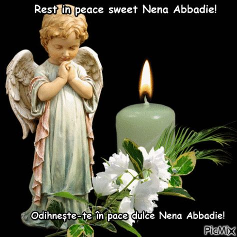 Odihnește-te în pace dulce Nena Abbadie!