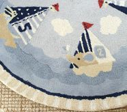 cute nautical rug for nursery | nautical nursery | pinterest