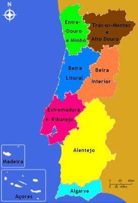 Mapa De Portugal Roteiro E Guia Para Visitar Portugal Map