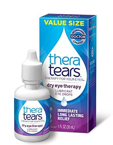 Theratears Dry Eye Therapy Lubricant Eye Drops 1fl Oz 3 Dry
