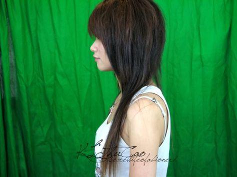 Asian Mullet Google Search Health Pinterest Asian Mullet - Hairstyle asian mullet