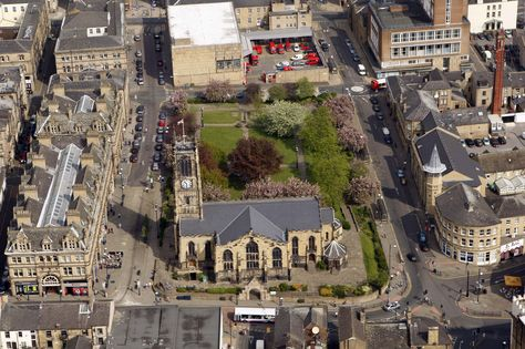 Huddersfield Parish Church (our very own 'Central Park').