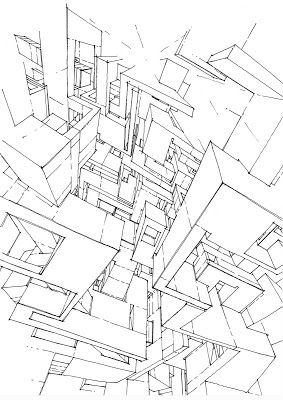 The Architecture Draftsman Diagram Architecture Architecture Space Artwork