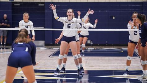 Two women's volleyball players named NAIA All-Americans